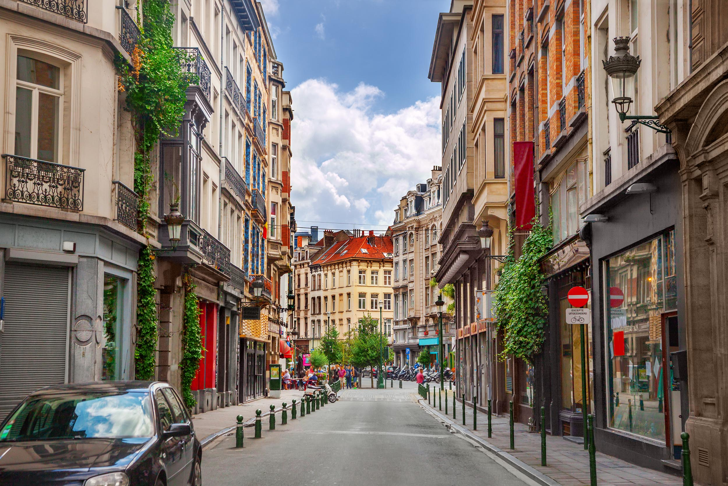 Street in Brussels; Shutterstock ID 1007358256; Purchase Order: -