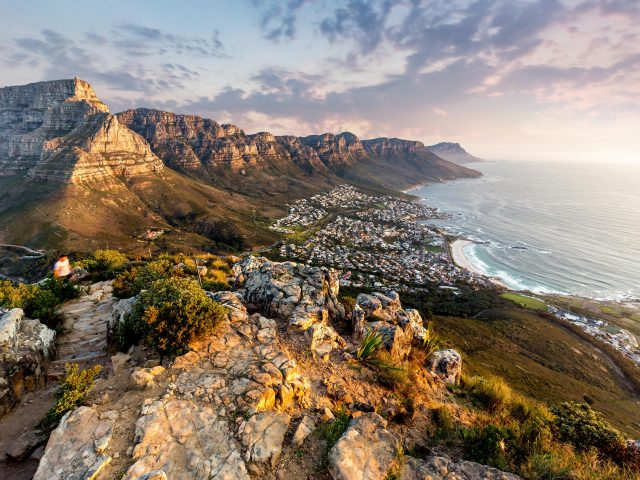 Table mountain sunset; Shutterstock ID 631187669; Purchase Order: -